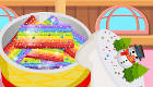 cuisine : Cuisiner un gâteau arc-en-ciel