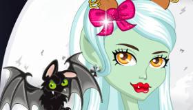 Jeux de fille : Jeu de coiffure Monster High