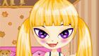 habillage : Une petite fille à la garderie - 4
