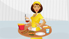 cuisine : Serveuse express