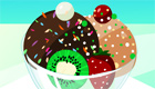 cuisine : Décore de bonnes glaces