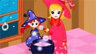 décoration : Spécial Halloween - La maison des sorcières