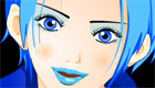 maquillage : Une fille mannequin de publicité