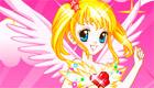 habillage : Une fille ange