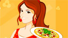 cuisine : Jeu de serveuse dans un café