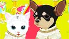 habillage : Mariage entre chien et chat