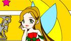 gratuit : Un coloriage de fée - 11
