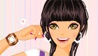 maquillage : La coiffeuse de Coralie