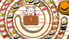 cuisine : Un chat cuisine des sushis
