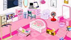décoration : Une chambre de fille toute rose