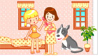décoration : Une jolie maison de poupées pour filles