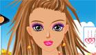 maquillage : Maquille une fille en couleur!
