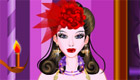habillage : Une mariée gothique