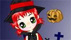 habillage : Sorcière d'Halloween