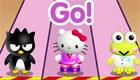 stars : Une course avec Hello kitty
