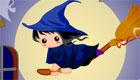décoration : Halloween - Tabata, une gentille sorcière