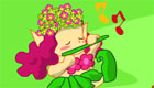 décoration : La forêt magique des filles lutines