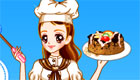 habillage : Habille Marion la chef pâtissière