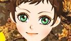 maquillage : Une fille en automne