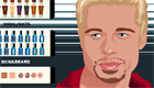maquillage : Brad Pitt