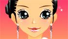 maquillage : Une fille en discothèque