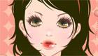 maquillage : Constance, une fille étudiante