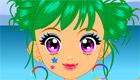 maquillage : Une fille à la plage - 3