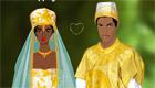 habillage : Un mariage africain