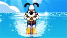 gratuit : Super jeu de ski nautique pour chien!