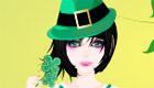 habillage : Une fille à la St Patrick