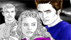 gratuit : Coloriage Twilight