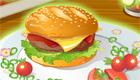 cuisine : Hamburger frites