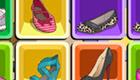 Jeu de mémoire de chaussures