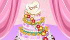 Prépare un gâteau de mariage