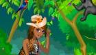 Habille un écrivain dans la jungle