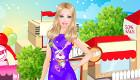 Barbie au centre commercial