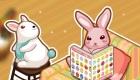 Décore la maison du lapin de Pâques