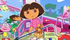 Jeu de rangement avec Dora