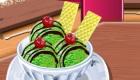 Cuisine une glace au thé vert