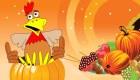 Jeu d'alignement spécial Thanksgiving
