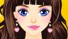 Maquillage d'hôtesse de l'air