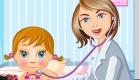 Jeu de pédiatre pour fille