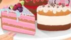 Une cuisinière et ses gâteaux