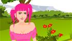 Une fille au parc