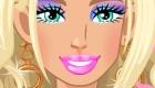 Séance de maquillage pour Barbie