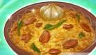 Cuisine du riz au boeuf