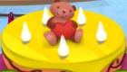 Cuisine un gâteau d'anniversaire