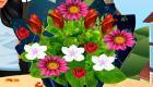 Décorer des bouquets de fleurs