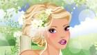 Jeu de maquillage de mariée
