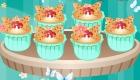 Jeu de cuisine de cupcake